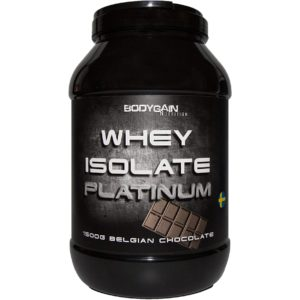 Bodygain Whey isolate platinum