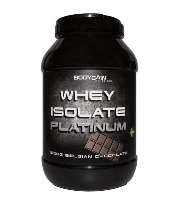 Bodygain Whey isolate platinum