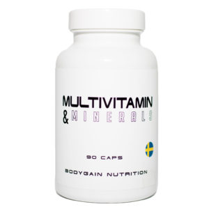 Multivitaminer & Mineraler